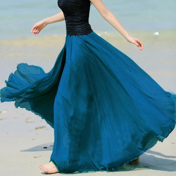modra-dlouha-letni-sukne