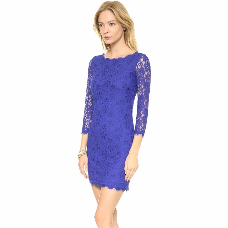 ... krajkové šaty s balonovou sukní. elegantni-modre-krajkove-saty 34c2e230234