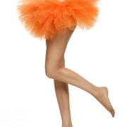 damska-oranzova-tutu-sukne