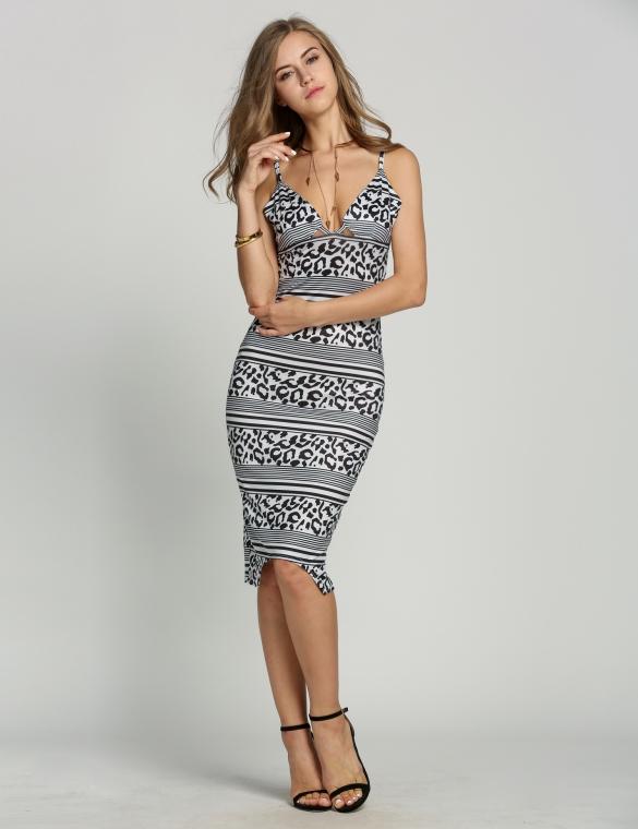 sexy-šaty-na-ramínka