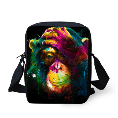 taska-pres-rameno-crossbody-animals-3D-motiv-color-monkey