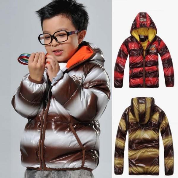 detska-zimni-burtikata-leskla-pruhovana-bunda