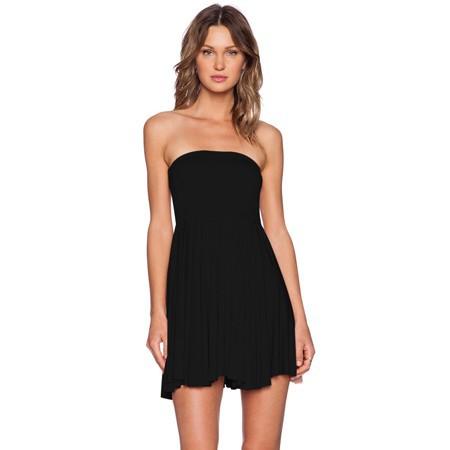 letní šaty bez ramínek  e07f3b25a5