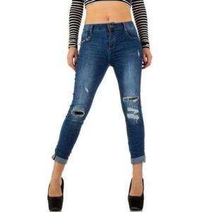 damske-stylove-moderni-dziny-kalhoty-slimky-78 delka-s dirami