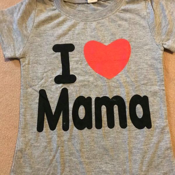 detske-sede-tricko-s-kratkym-rukavem-s-potiskem-I-love-mama