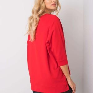 damske-cervene-moderni-stylove-triko-mikina-top-trictvrtecni-rukavy-s-potiskem-s-napisem